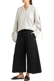 Joseph Nixie pleated cropped wide-leg pants
