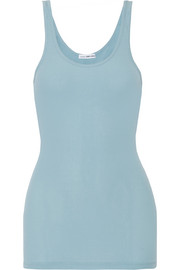 The Daily ribbed stretch Supima cotton tank