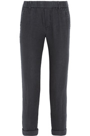 James Perse Linen tapered pants
