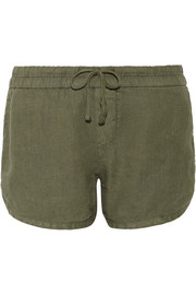 James Perse Dolphin linen shorts
