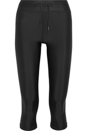 NYC cropped stretch leggings