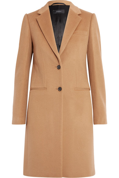 Joseph - Wool And Cashmere-blend Coat - Camel