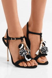 Sophia Webster Layla embellished suede sandals