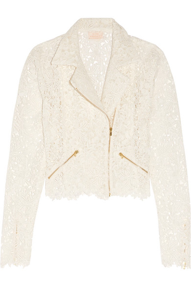 Rime Arodaky - Drew Cotton-blend Guipure Lace Jacket - Ivory