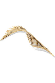 + Adir Abergel gold-plated hair slide
