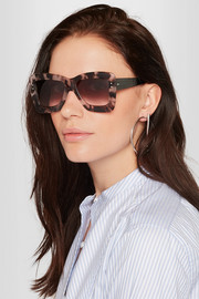 + Cutler and Gross square-frame acetate sunglasses