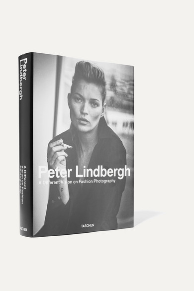 TASCHEN Peter Lindbergh: A Different Vision On Fashion Photography By Thierry-Maxime Loriot Hardcover Book in Black