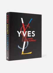 Abrams Yves Saint Laurent by Farid Chenoune and Florence Muller handcover book