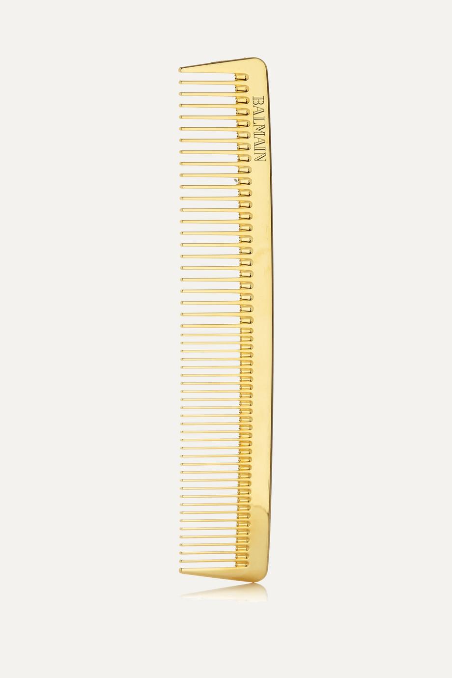 Balmain Paris Hair Couture Gold-plated Cutting Comb