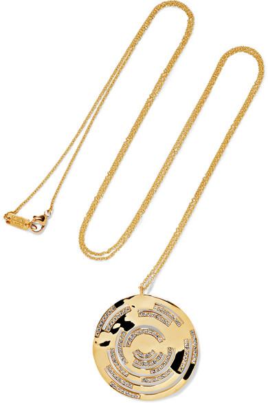 Ippolita - Senso 18-karat Gold Diamond Necklace