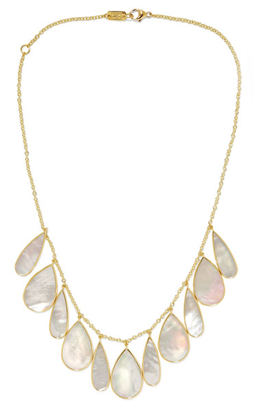 Ippolita - Rock Candy 18-karat Gold Mother-of-pearl Necklace - one size