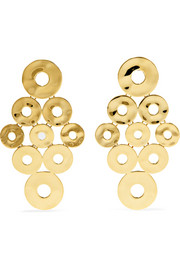 Ippolita Senso 18-karat gold earrings