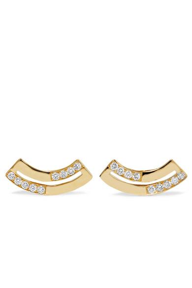 Ippolita - Senso 18-karat Gold Diamond Earrings