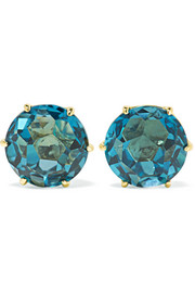 Ippolita Rock Candy 18-karat gold topaz earrings