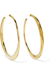 Classico 18-karat gold hoop earrings
