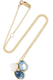 Ippolita Rock Candy 18-karat gold multi-stone necklace