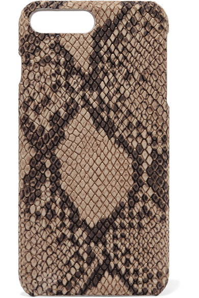 The Case Factory - Python-effect Leather Iphone 7 Plus Case - Snake print