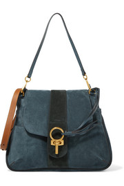 Chloé Lexa medium nubuck shoulder bag