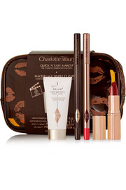 Charlotte Tilbury Quick 'N' Easy The Red Carpet Party Look