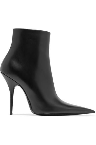 Balenciaga. Leather ankle boots