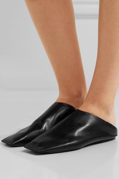 37041858208 Balenciaga. Leather slippers
