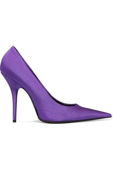 Balenciaga - Spandex Pumps - Purple