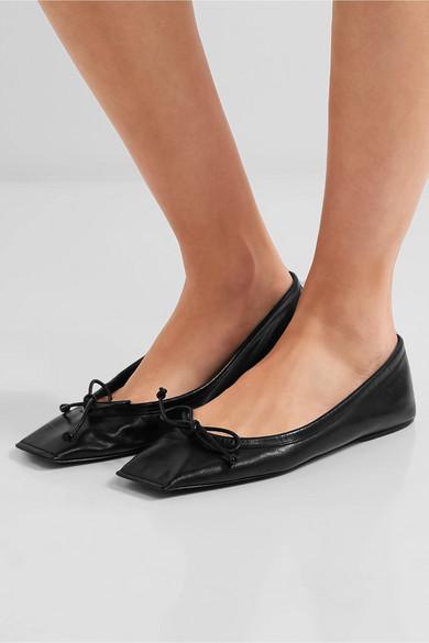 Balenciaga Leather Flats N1QQeQr