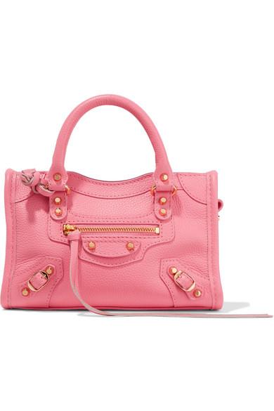 e64d80d7afab Balenciaga. Classic City nano texured-leather shoulder bag