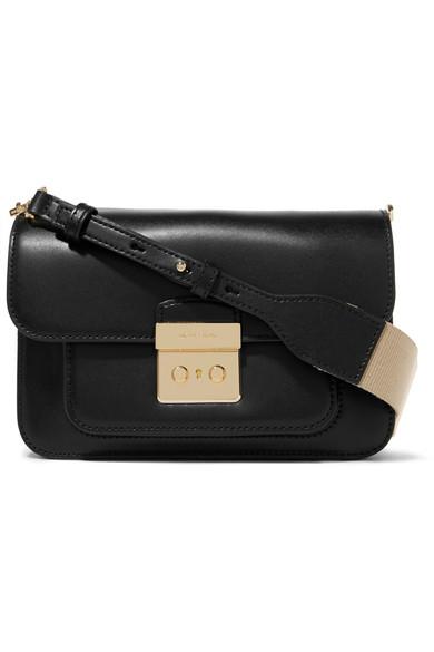 9482472f8407 MICHAEL Michael Kors | Sloan Editor large leather shoulder bag | NET ...