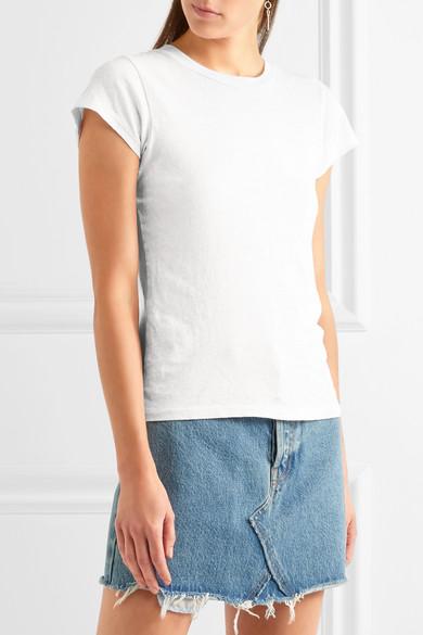 Spielraum Niedrigsten Preis RE/DONE + Hanes 1960s T-Shirt aus Baumwoll-Jersey Spielraum Online Ebay TKIrv1v