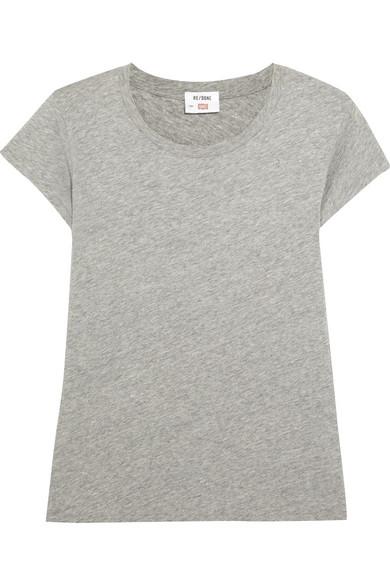 RE/DONE + Hanes 1960s T-Shirt aus Baumwoll-Jersey