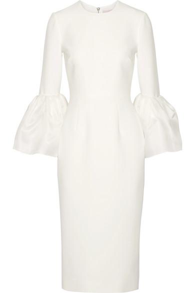Outlet Neueste Roksanda Margot Kleid aus Crêpe de Chine Spielraum Mit Paypal Verkaufspreise Billig Viele Arten Von m782WCpV