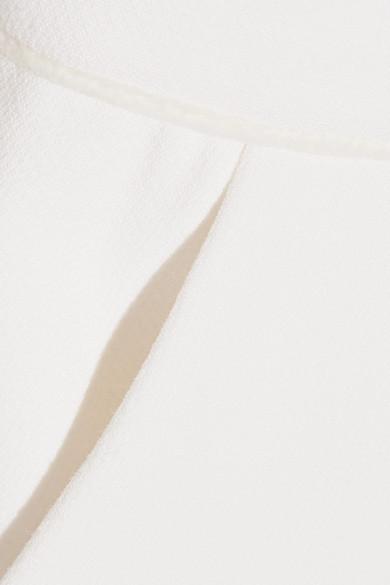 Roksanda Ruscha rückenfreier Neckholder-Jumpsuit aus Cady