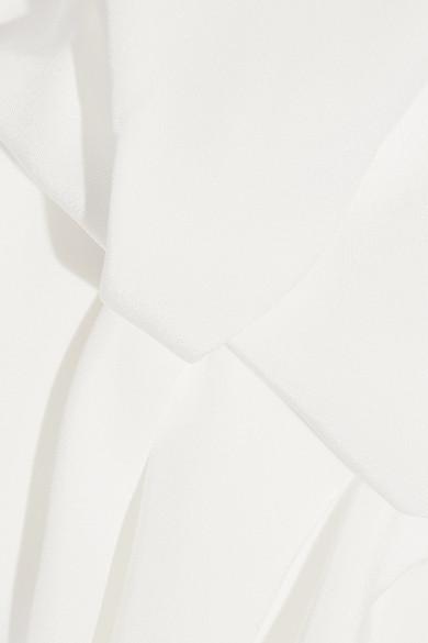 Roksanda Ophelia Robe aus Seide mit Tüllbesatz