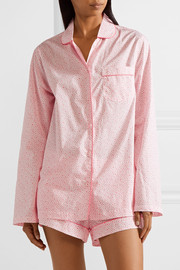 Josephine printed cotton-poplin pajama set
