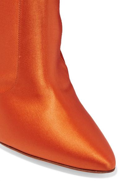 d555392002 Vetements   + Manolo Blahnik satin boots   NET-A-PORTER.COM