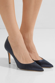 Gianvito Rossi 85 satin pumps