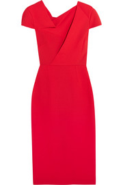 Roland Mouret Burfield wool-crepe dress