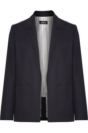 Taylor stretch-cotton blazer