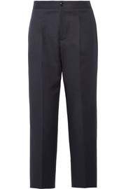 Amalfi cropped cotton-blend straight-leg pants