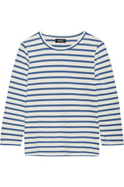 Dream striped cotton top