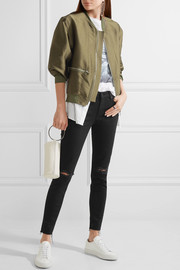 Looker distressed mid-rise skinny jeans