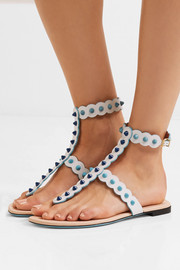 Fendi Studded leather sandals