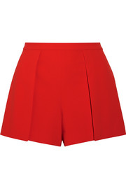 Larissa draped crepe shorts