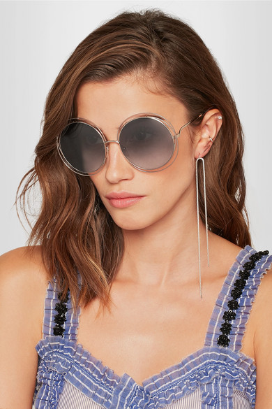 16d1bc4f696 Chloe Style Round Sunglasses