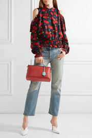 Fendi By The Way color-block leather shoulder bag