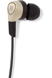 H3 gold-tone earphones