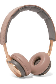 H8 wireless leather and aluminium headphones