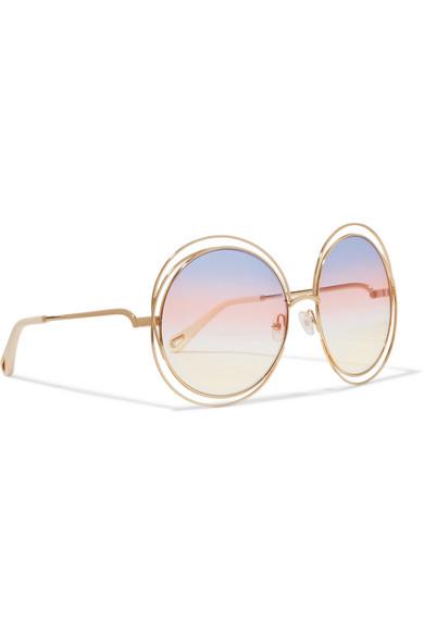 cca24ff8 Leonard round-frame acetate sunglasses