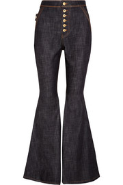 Ellery Ophelia high-rise flared jeans